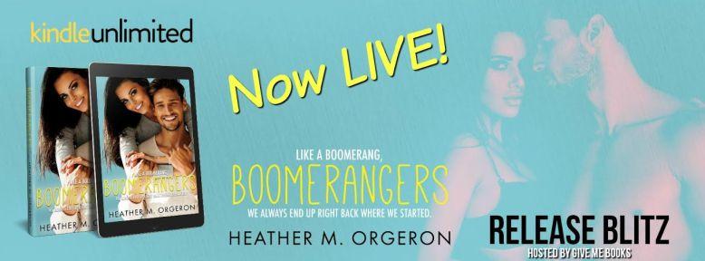 Boomerangers live banner